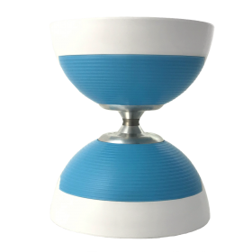 White with Blue Shield